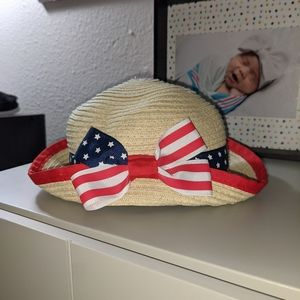 Koala Kids 3-6 Month American Flag Hat